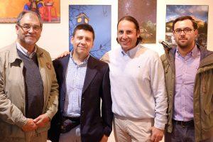 Mario Saez, Jorge Henríquez, Anthony Odgers y Michel Dupré del Fotoclub Concepción